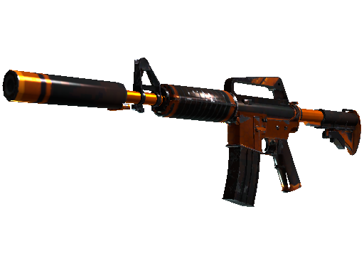 M4A1-S | Atomic Alloy Well-Worn