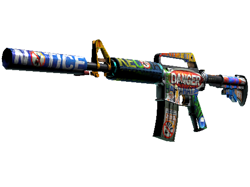 M4A1-S   Imminent Danger (Battle-Scarred)