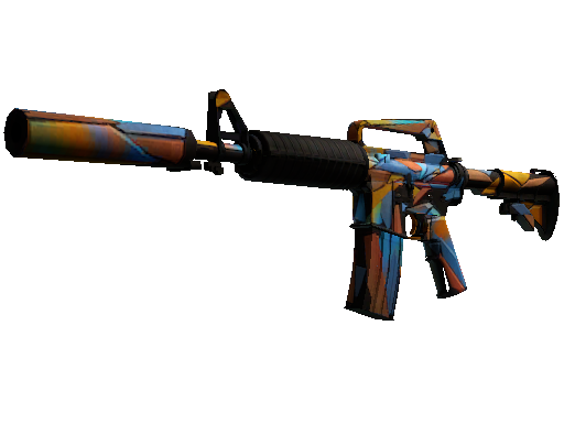 M4A1-S | Leaded Glass Battle-Scarred