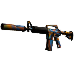 StatTrak™ M4A1-S | Leaded Glass (Battle-Scarred)