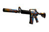 M4A1-S | Leaded Glass (Battle-Scarred)