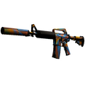 StatTrak™ M4A1-S | Leaded Glass <br>(Battle-Scarred)