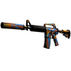 M4A1-S | Leaded Glass <br>(Well-Worn)
