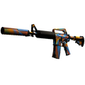 StatTrak™ M4A1-S | Leaded Glass <br>(Well-Worn)