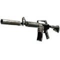 StatTrak™ M4A1-S | Mecha Industries <br>(Battle-Scarred)