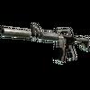 M4A1-S | Mecha Industries (Battle-Scarred)
