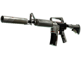 StatTrak™ M4A1-S   Mecha Industries (Battle-Scarred)