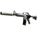StatTrak™ M4A1-S | Mecha Industries <br>(Well-Worn)