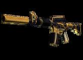 M4A1-S | Золотая спираль, Немного поношенное, 1140.62$