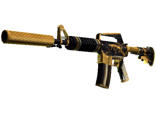 M4A1-S | Golden Coil (Minimal Wear)