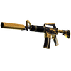 M4A1-S | Golden Coil <br>(Minimal Wear)