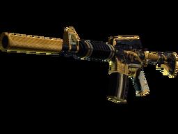 M4A1-S | Золотая спираль. После полевых испытаний. Цена: 8$