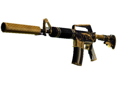 M4A1-S | Золотая спираль (Поношенное)