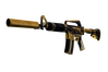 StatTrak™ M4A1-S | Golden Coil (Well-Worn)