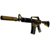 M4A1-S | Golden Coil <br>(Battle-Scarred)