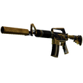 StatTrak™ M4A1-S | Golden Coil <br>(Battle-Scarred)