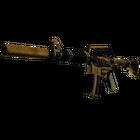 StatTrak™ M4A1-S | Golden Coil (Battle-Scarred)