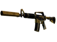 M4A1-S Golden Coil CS:GO Skin