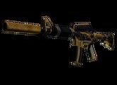 M4A1-S | Золотая спираль, Закаленное в боях, 651.73$