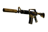 StatTrak™ M4A1-S | Golden Coil (Battle-Scarred)
