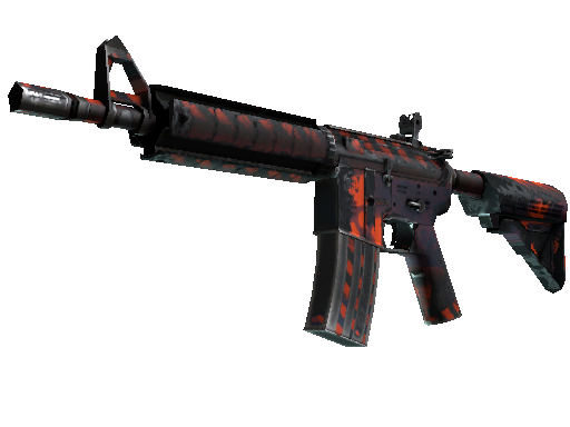 M4A4 | Radiation Hazard Well-Worn