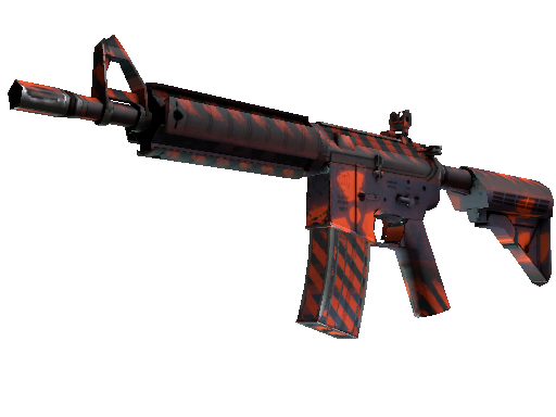 Souvenir M4A4 | Radiation Hazard (Battle-Scarred)