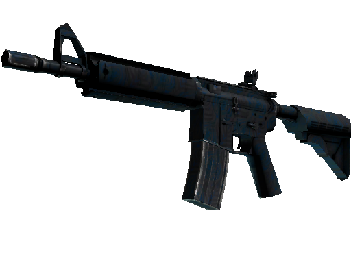 M4A4 | Dark Blossom (Battle-Scarred)
