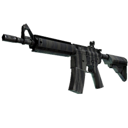 StatTrak™ M4A4 | Faded Zebra (Minimal Wear)