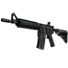StatTrak™ M4A4 | Faded Zebra (Factory New)