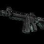 StatTrak™ M4A4 | Faded Zebra (Factory New)