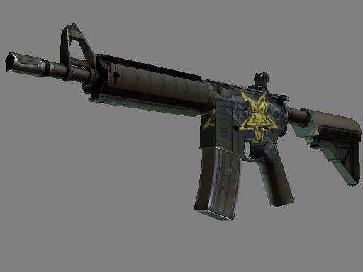 CS:GO 饰品交易-M4A4(StatTrak™) | 星级 (略有磨损)