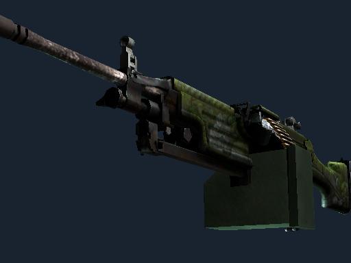 M249 | Aztec Battle-Scarred