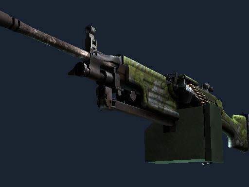 Скин StatTrak™ M249 | Ацтекские мотивы (После полевых испытаний)
