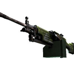 StatTrak™ M249 | Aztec (Well-Worn)