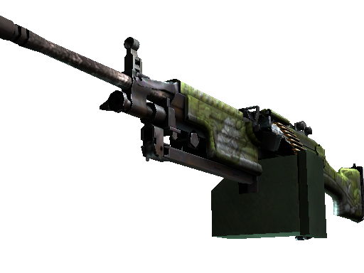 StatTrak™ M249 | Aztec (Battle-Scarred)