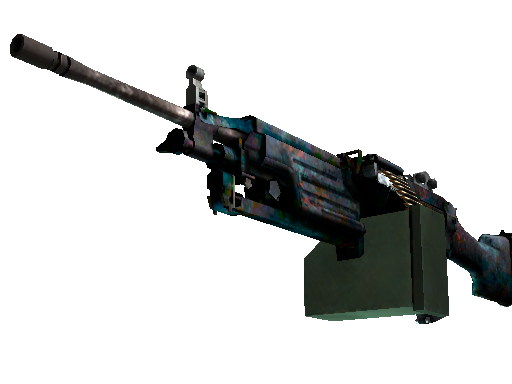 StatTrak™ M249 | Magma (Battle-Scarred)