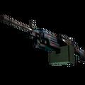 StatTrak™ M249 | Magma <br>(Well-Worn)