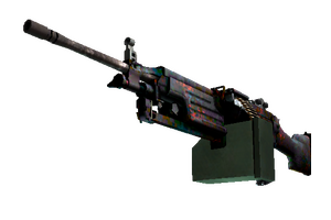 Stattrak Trade M249 Magma Factory New