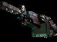 StatTrak™ M249 | Magma (Minimal Wear)