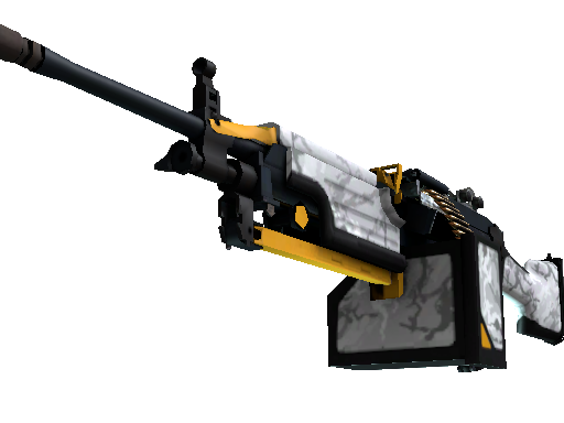 Скин M249 | Призрак (Немного поношенное)