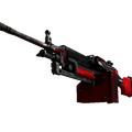 StatTrak™ M249 | System Lock <br>(Well-Worn)
