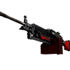 StatTrak™ M249 | System Lock (Battle-Scarred)