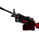 StatTrak™ M249 | System Lock (Battle-Scarred)