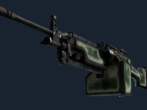StatTrak™ M249 | Deep Relief