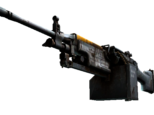 StatTrak™ M249 | Warbird (Battle-Scarred)