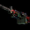 StatTrak™ M249 | Nebula Crusader <br>(Battle-Scarred)