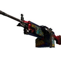 StatTrak™ M249 | Nebula Crusader