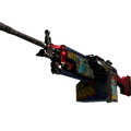 StatTrak™ M249 | Nebula Crusader <br>(Well-Worn)