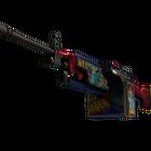 StatTrak™ M249 | Nebula Crusader (Factory New)