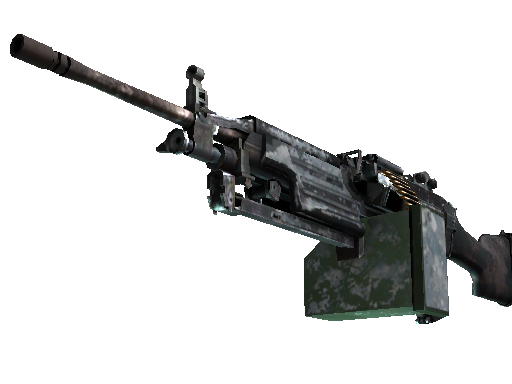 M249 | Blizzard Marbleized